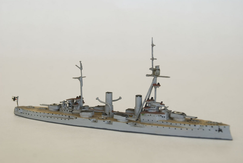 S.M.S. Blucher waterline model