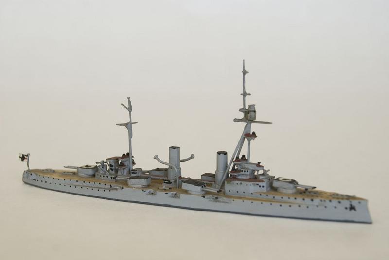S.M.S. Blucher waterline model