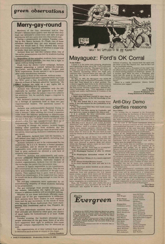 Evergreen, 1976-10-13 pg 4