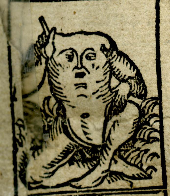 Blemmye from Nuremberg Chronicles