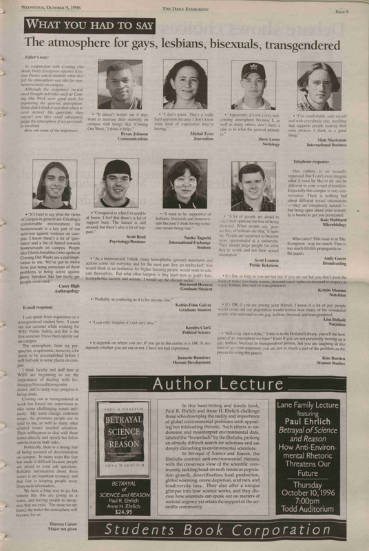 Evergreen, 1996-10-09 pg 9