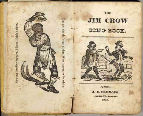 Jim Crow Song Book