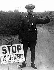 US Border Patrol Man, 1920s