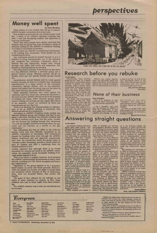 Evergreen, 1975-12-10 pg 4-c