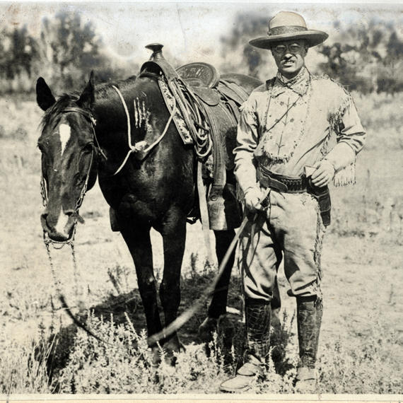 Theodore Roosevelt in the Badlands