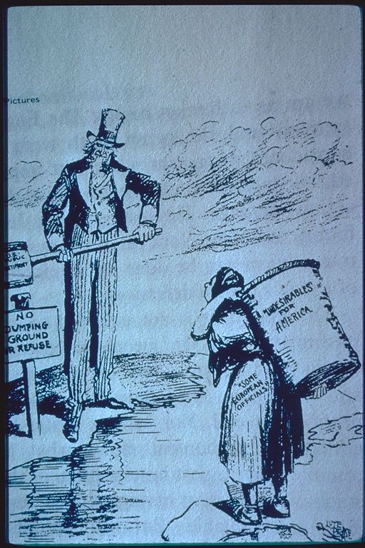 """That immigration problem again!"" 1921"