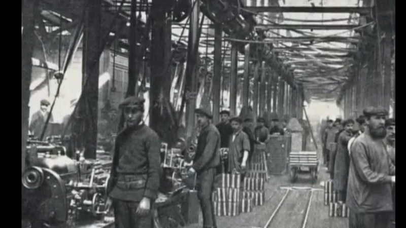 Ford's Assembly Line (1913)