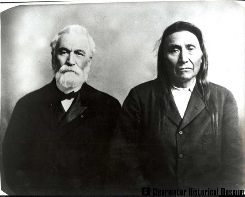 General Howard and Chief Joseph