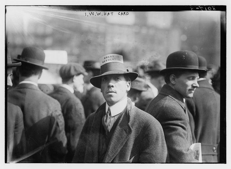 I.W.W. Hat Card