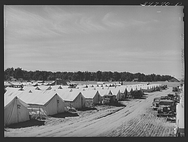 FSA Farm Labor Camp in the Northwest