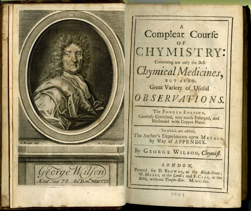 Compleat Course of Chymistry title page