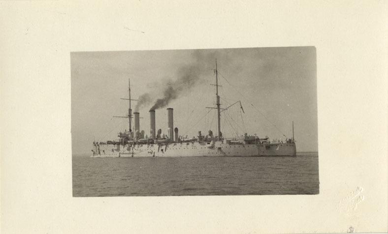 Cruiser Aurora postcard