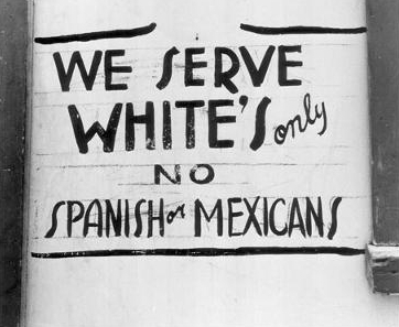Discrimination Sign in the 1920s