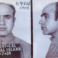 Al Capone Mugshot on January 7th, 1939