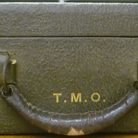 Suitcase used by Tora Okubara