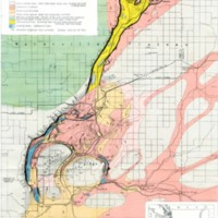 Reconnassaince Topographic and Geologic Map of Grand Coulee Washington