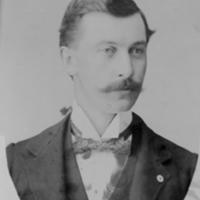 William Delbert Barkhuff, ca. 1892
