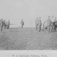 Cadet Corps, Artillery Co., ca 1897