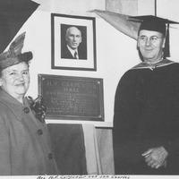 Carpenter Hall Dedication 1946