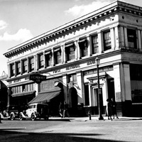 Bank, First National - Building Main Street April 7, 1938
