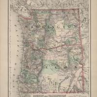 Oregon and Washington, (1891)