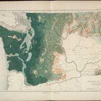 Density of forests Washington State, (1883)