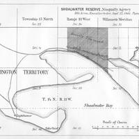 Shoalwater Reserve, Nisqually Agency, (1879)